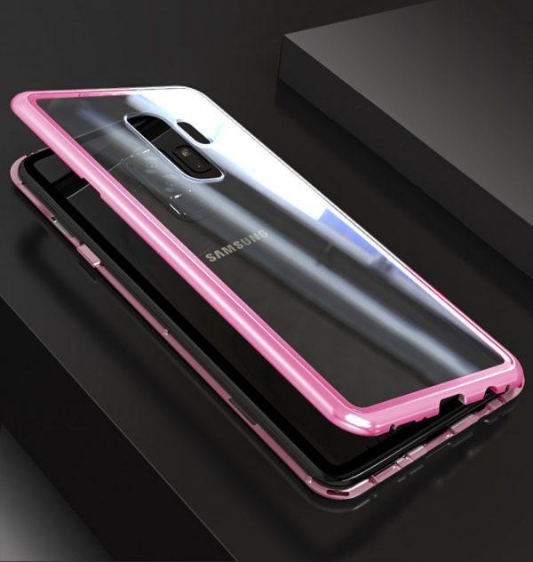 Rózsaszín Mágneses Samsung Tok