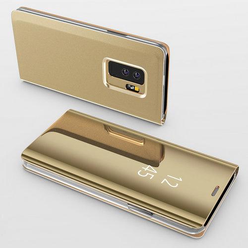 Arany állvány tükrös tok Samsung Galaxy számára