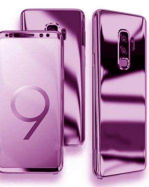 Lila 360 Tükör Tok Samsung Készülékhez