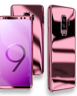 Rózsaszín 360 Tükör Tok Samsung Készülékhez