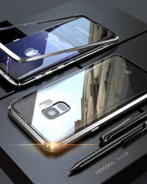 Ezüst Mágneses Samsung Tok