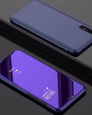 Lila Kihajthatós Tükrös Huawei Tok