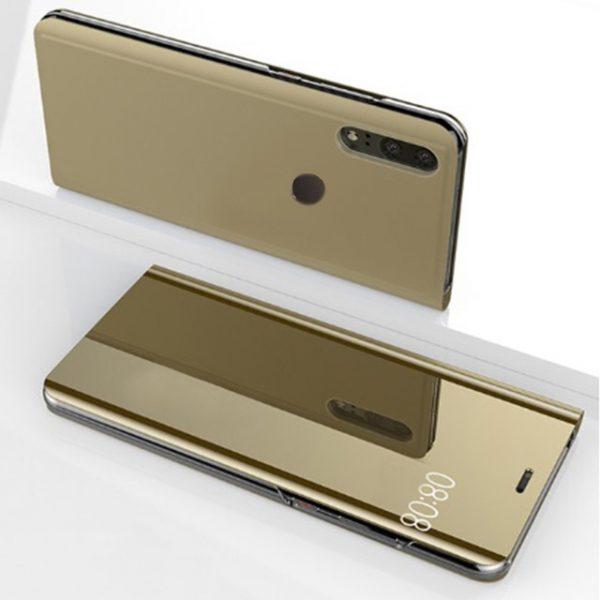 Arany Kihajthatós Tükrös Huawei Tok